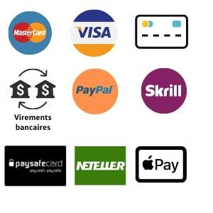 Moyens de paiement acceptés sur Pokerstars.fr